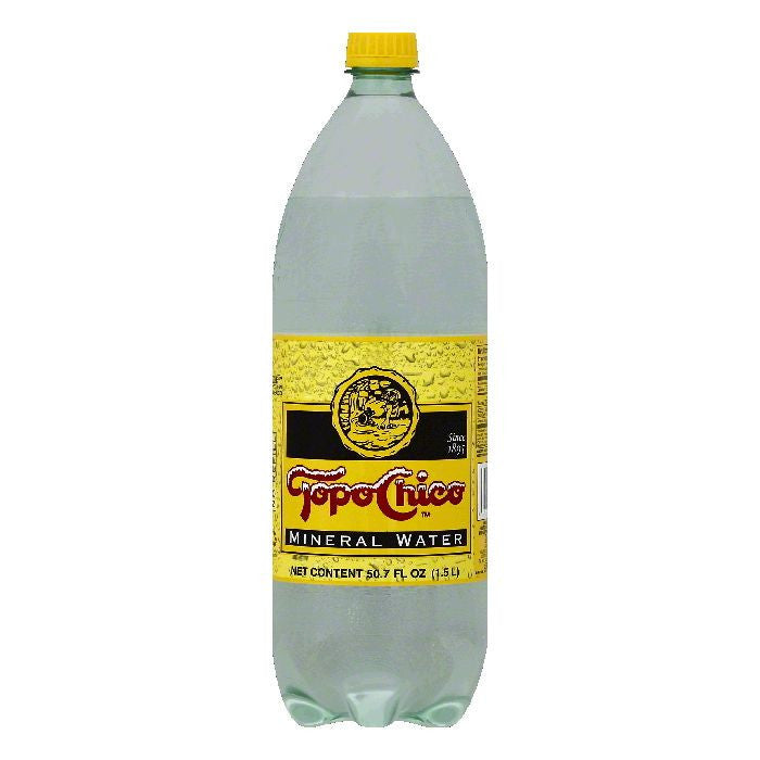 Topo Chico Mineral Water, 50.7 OZ (Pack of 8)