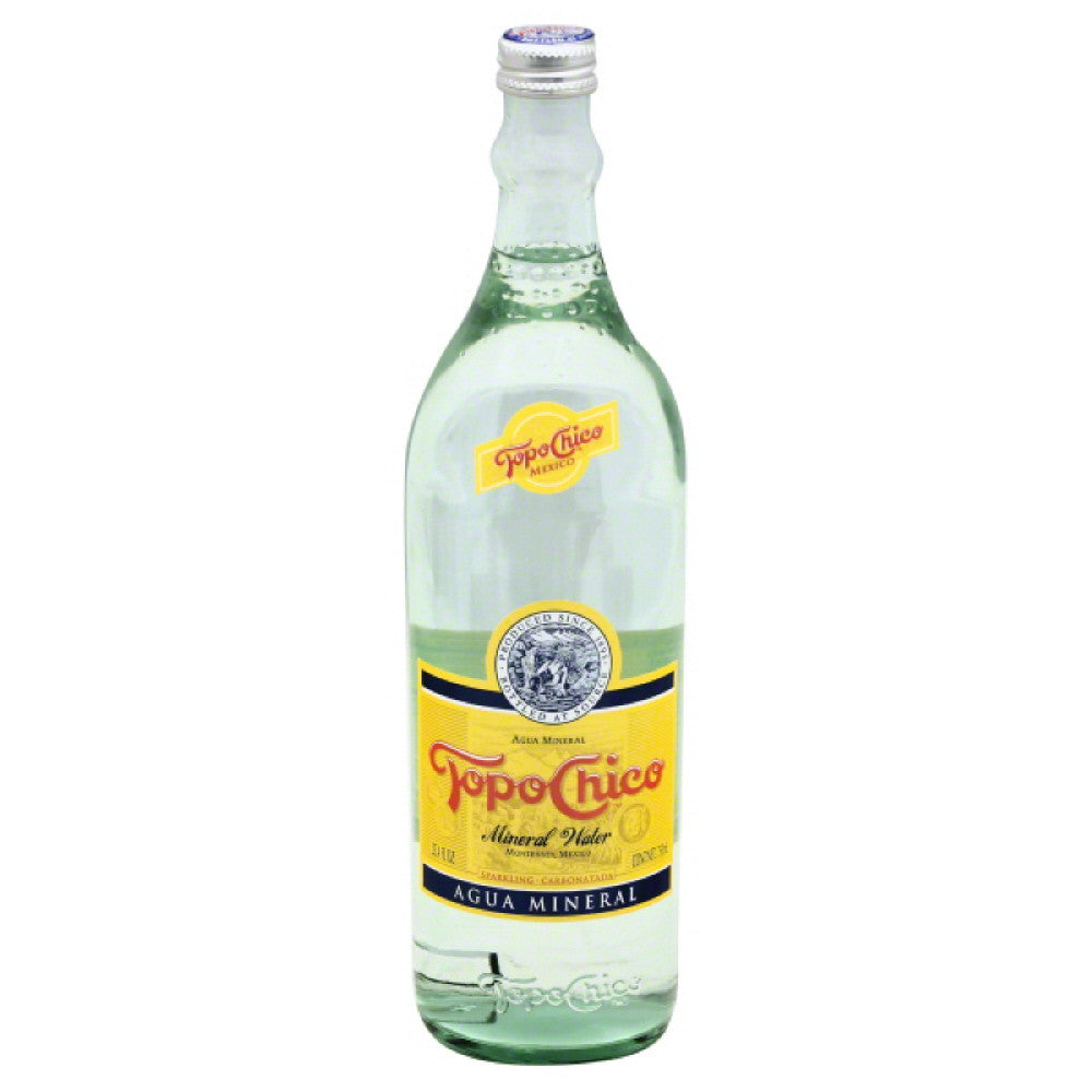 Topo Chico Sparkling Mineral Water, 25.4 Fo (Pack of 12)