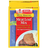 Dry Seasoning Meat Loaf Mix Family Size Adolph's Meal Makers Seasoning Mix 2.11 Oz Packet (Pack of 6)