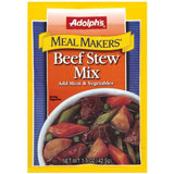 Dry Seasoning Beef Stew Meal Makers Mix 1.5 Oz  (Pack of 24)
