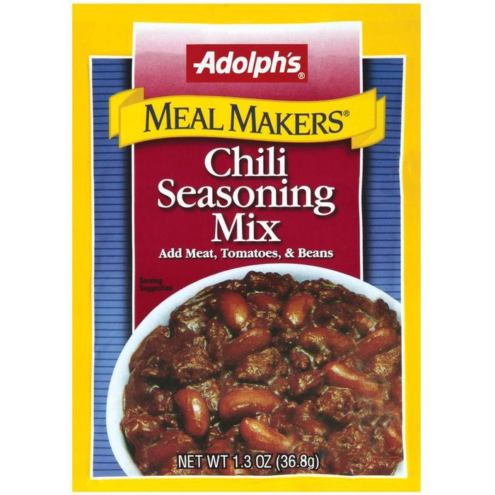 Dry Seasoning Chili Meal Makers Seasoning Mix 1.3 Oz  (Pack of 24)