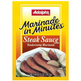 Dry Seasoning Marinade In Minutes Steak Sauce Flavor Tenderizing Marinade 1 Oz  (Pack of 24)