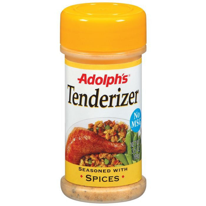 Dry Seasoning Seasoned With Spices Adolph's Tenderizer 3.5 Oz Shaker (Pack of 12)
