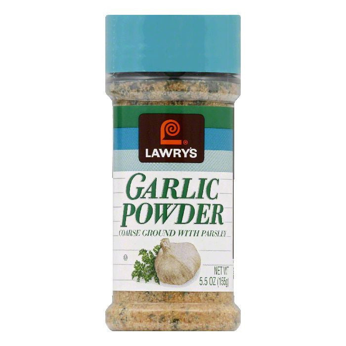 Lawrys Garlic Powder with Coarse Ground Parsley, 5.5 OZ (Pack of 12)