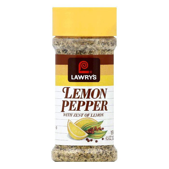 Lawrys Lemon Pepper, 4.5 OZ (Pack of 12)
