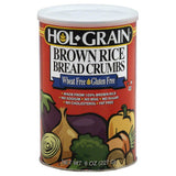 Hol Grain Brown Rice Bread Crumbs, 8 Oz (Pack of 6)