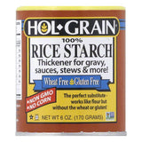Hol Grain 100% Rice Starch, 6 Oz (Pack of 6)