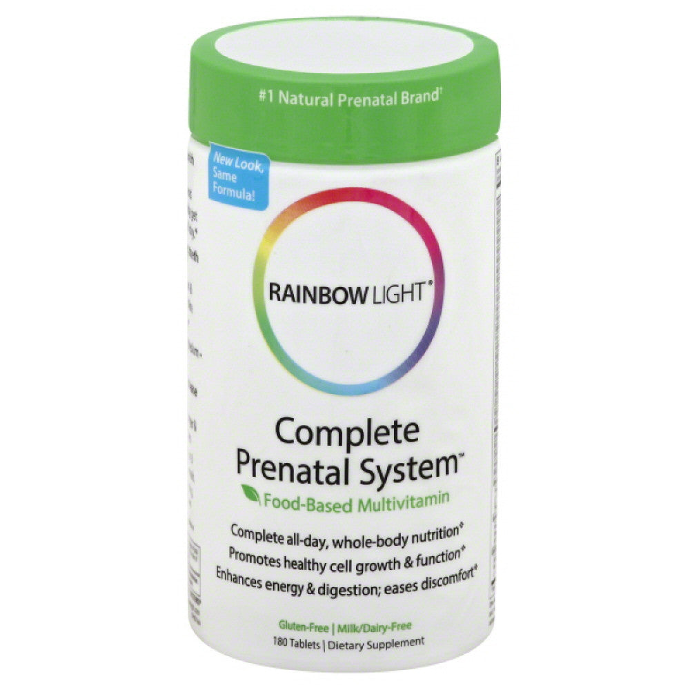 Rainbow Light Complete Prenatal System Tablets, 180 Tb