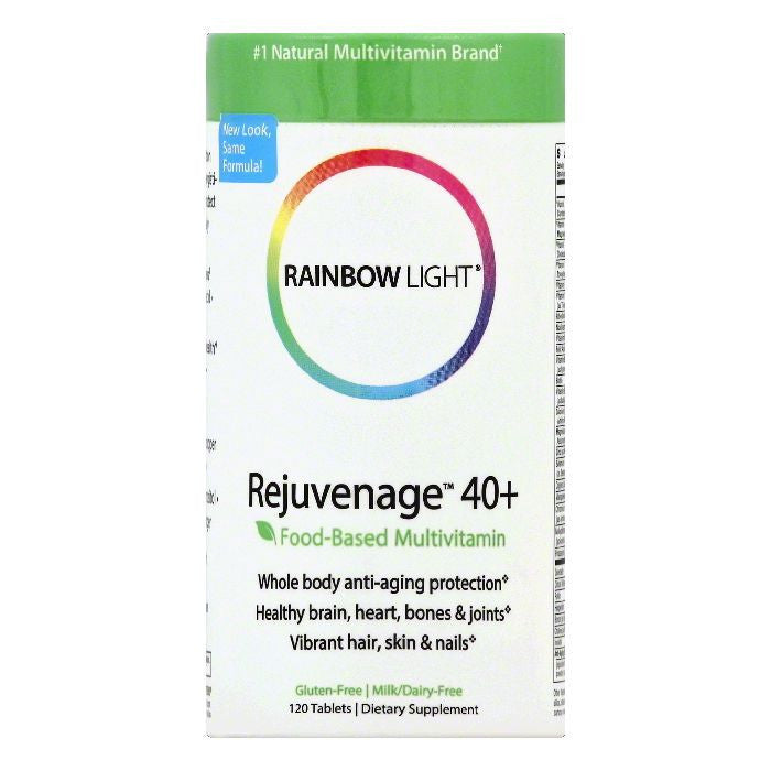 Rainbow Light Tablets Rejuvenage 40+, 120 ea