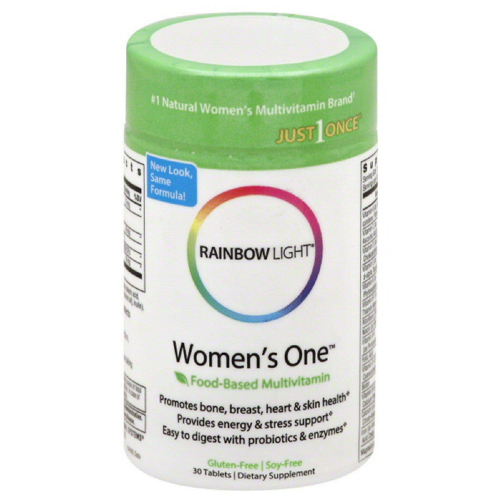 Rainbow Light Tablets Women's One, 30 Tb