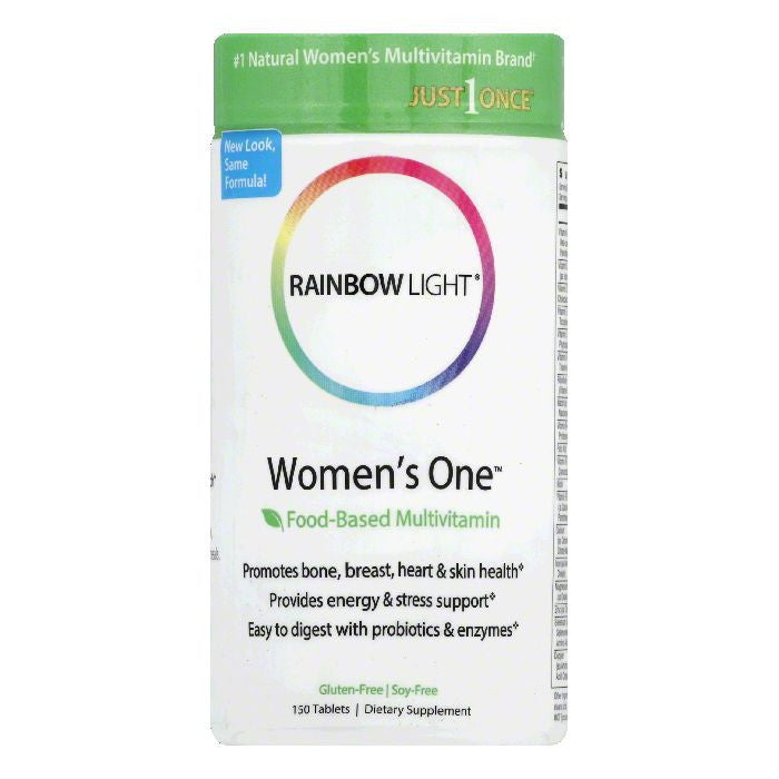 Rainbow Light Tablets Women's One, 150 TB