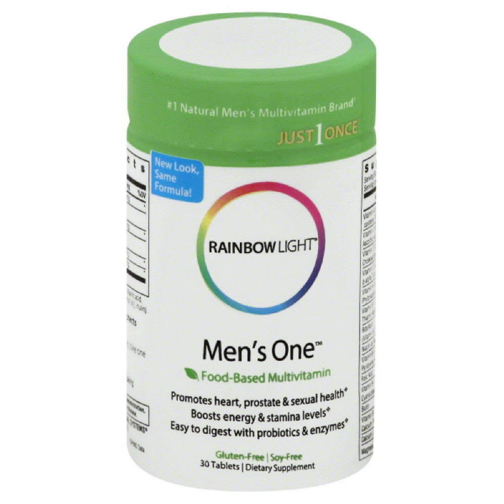 Rainbow Light Tablets Men's One, 30 Tb