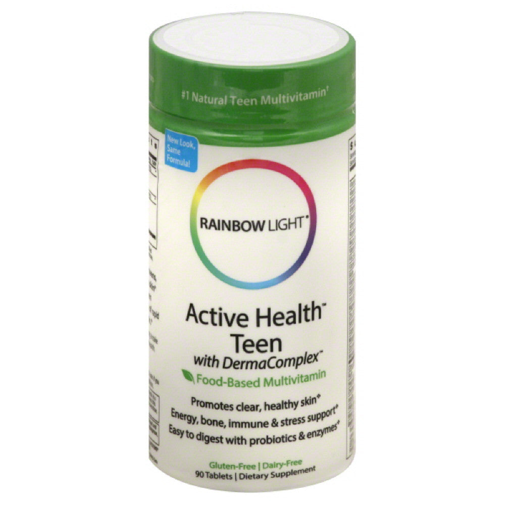 Rainbow Light Tablets Active Health Teen, 90 Tb