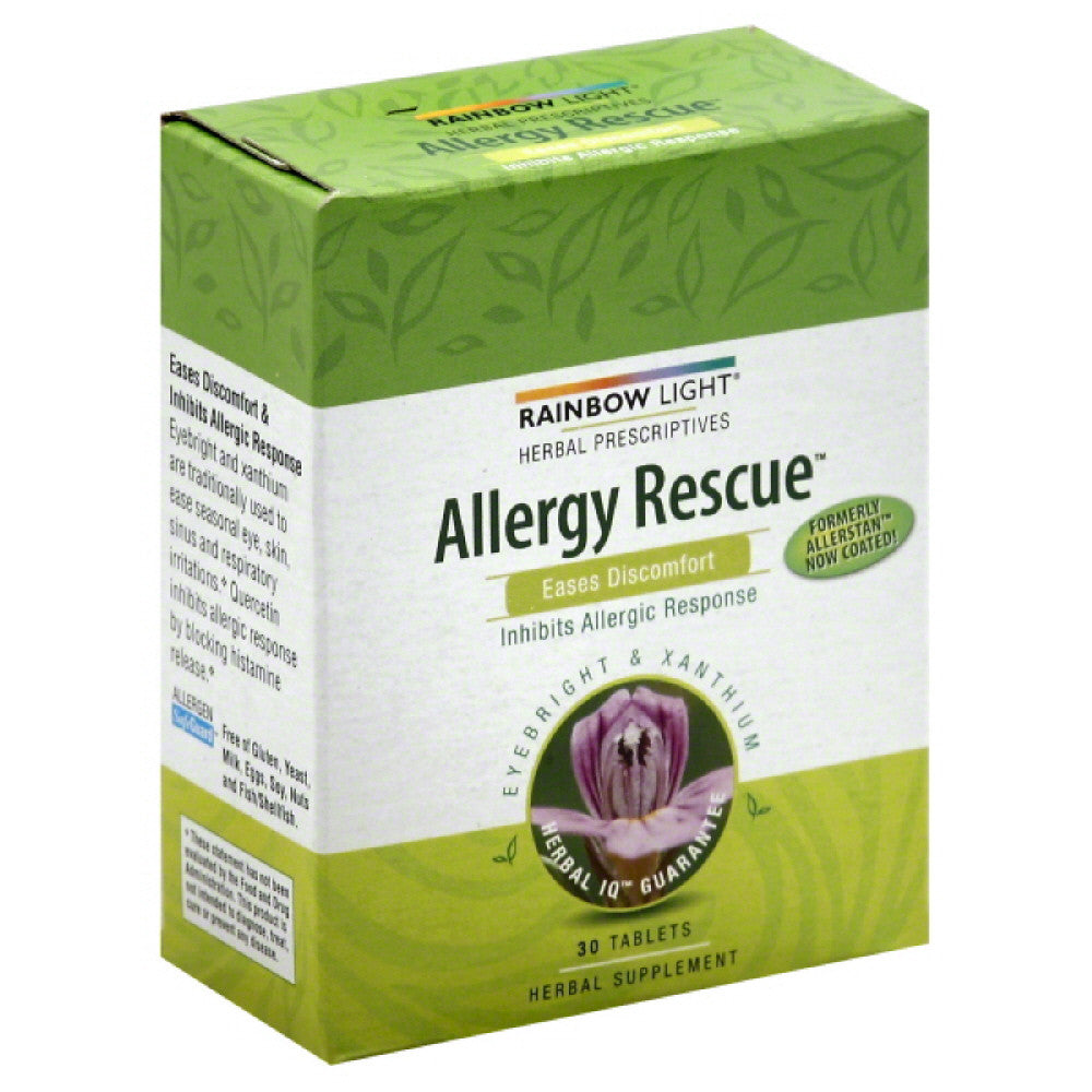 Rainbow Light Tablets Allergy Rescue, 30 Tb