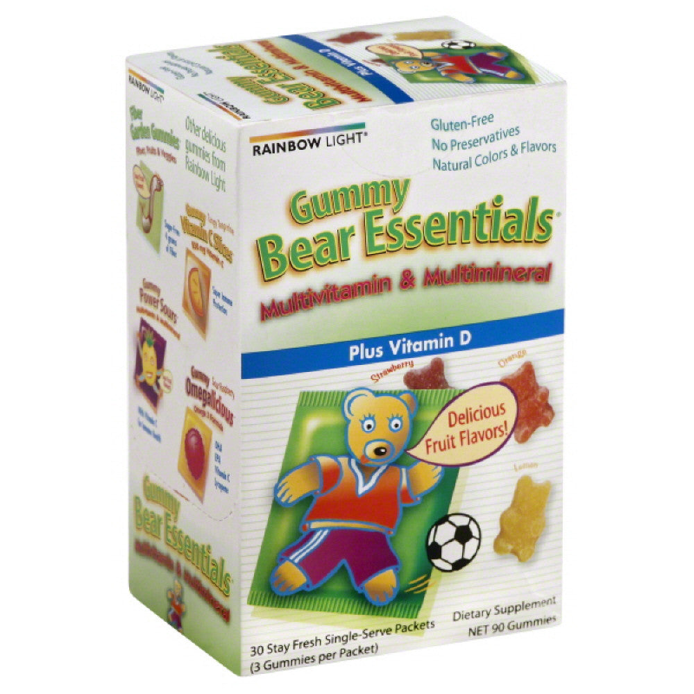 Rainbow Light Gummy Bear Essentials Multivitamin and Multimineral, 30 Pc