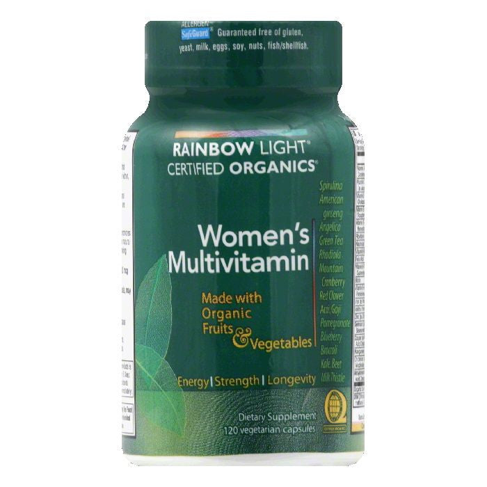 Rainbow Light Vegetarian Capsules Women's Multivitamin, 120 CP