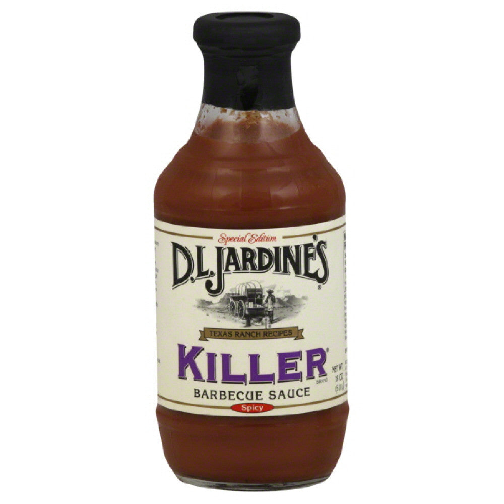 DL Jardines Spicy Special Edition Killer Barbecue Sauce, 18 Oz (Pack of 6)
