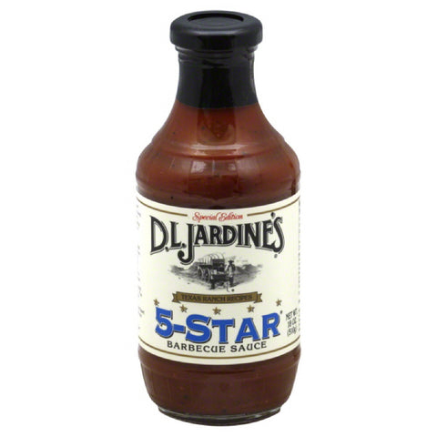 DL Jardines 5-Star Barbecue Sauce, 18 Oz (Pack of 6)