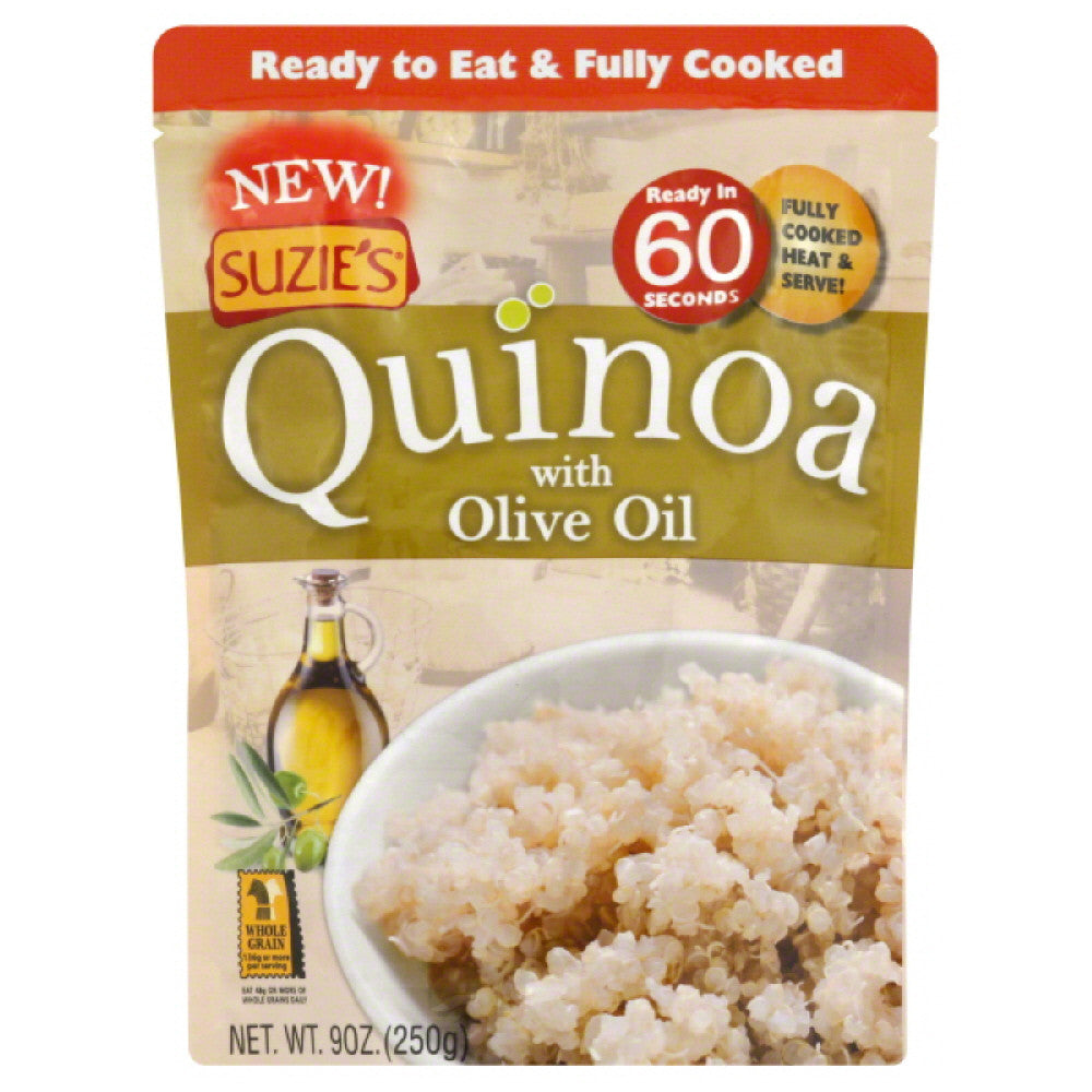 Suzies Quinoa with Olive Oil, 9 Oz (Pack of 6)