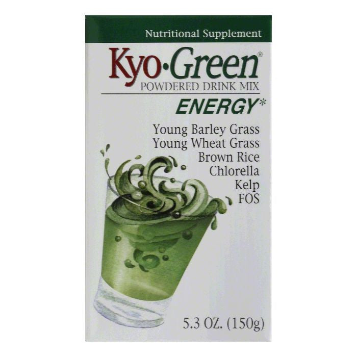Kyo Green Energy Powdered Drink Mix, 5.3 Oz