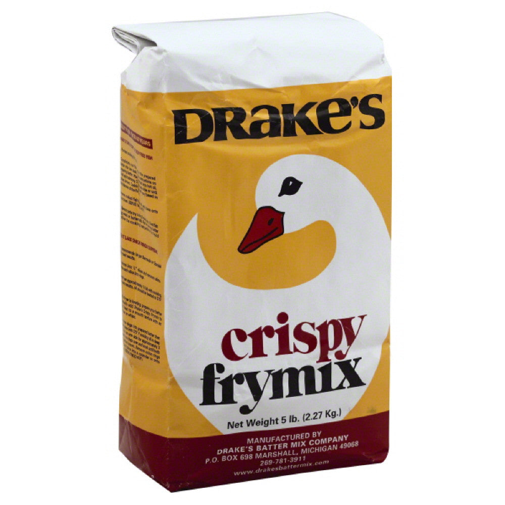 Drakes Crispy Frymix, 5 Lb (Pack of 10)