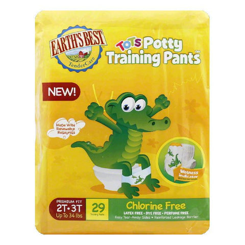 Earths Best 2T-3T (Pack of 4)