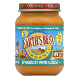 Earth's Best Chunky Spaghetti with Cheese, 6 OZ (Pack of 12)
