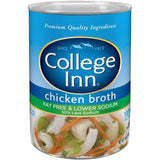 College Inn Fat Free & Lower Sodium Chicken Broth 14.5 Oz  (Pack of 24)