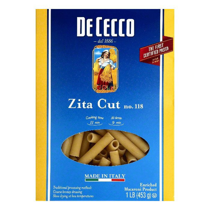 De Cecco No. 118 Zita Cut, 1 lb  ( Pack of  12)