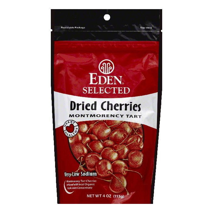 Eden Montmorency Tart Dried Cherries, 4 OZ (Pack of 15)