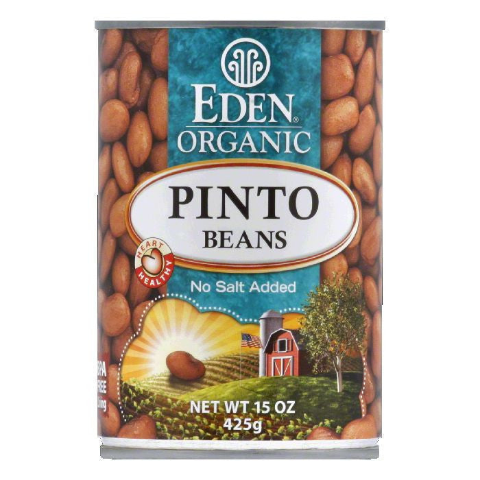 Eden Organic Pinto Beans, 15 OZ (Pack of 12)