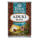 Eden Organic Adzuki Beans, 15 OZ (Pack of 12)