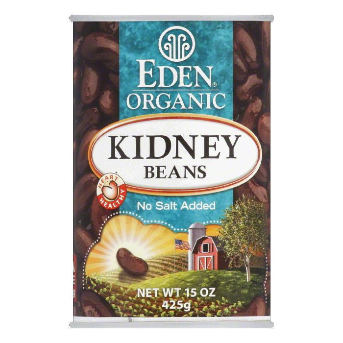 Eden Organic Kidney Beans, 15 OZ (Pack of 12)