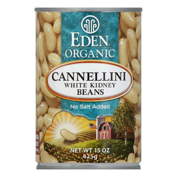 Eden White Kidney Bean, 15 OZ (Pack of 12)