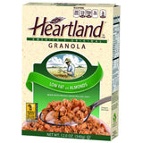Heartland Low-Fat Granola Cereal with Almonds, 12 OZ (Pack of 6)