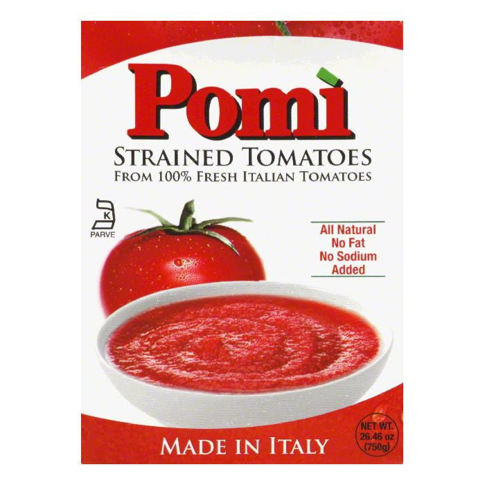 Pomi Strained Tomato, 26.46 OZ (Pack of 12)