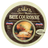 Henri Hutin Brie Couronne Cheese with Pepper, 2.2 Lb (Pack of 2)