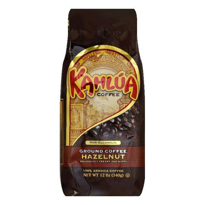 Kahlua Coffee Hazelnut Ground Coffee, 12 OZ (Pack of 6)