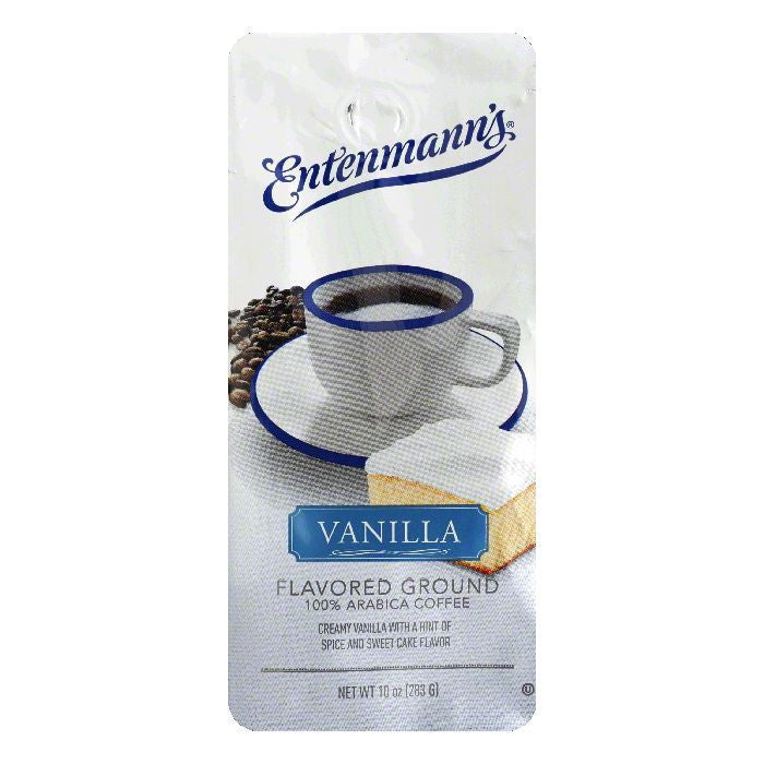 Entenmanns Vanilla Ground Coffee, 10 OZ (Pack of 6)