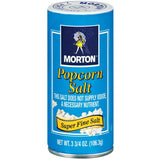 Morton  Popcorn Salt 3.75 Oz Shaker (Pack of 12)