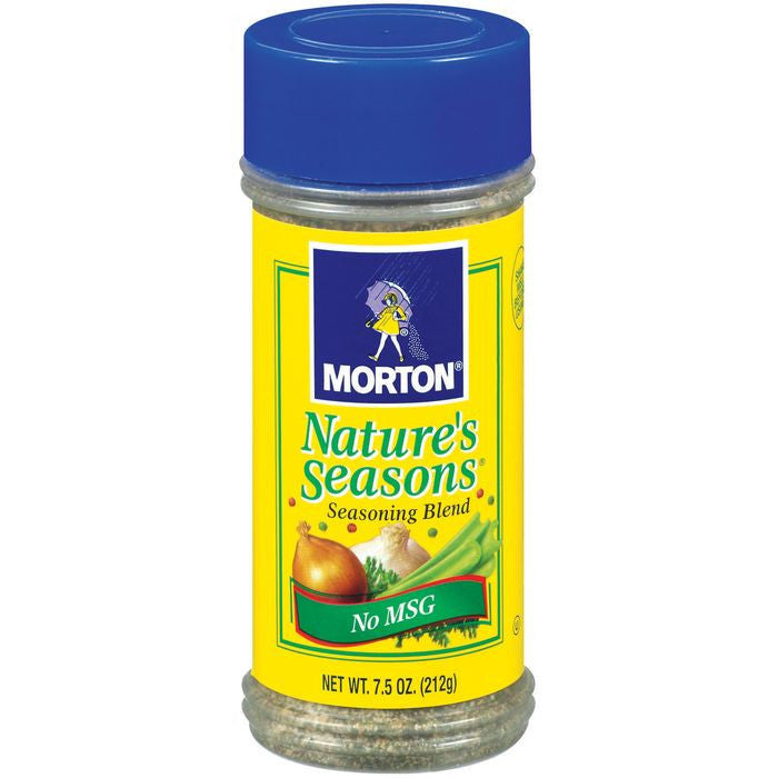 Morton Nature's Seasons 7.5 Oz No Msg Seasoning Blend 7.5 Oz Shaker (Pack of 12)