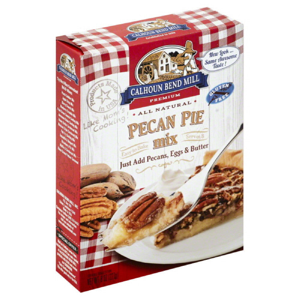 Calhoun Bend Pecan Pie Mix, 8 Oz (Pack of 6)