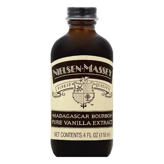 Nielsen Massey Madagascar Bourbon Pure Vanilla Extract, 4 OZ (Pack of 8)
