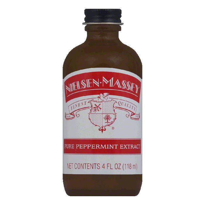 Nielsen Massey Pure Peppermint Extract, 4 OZ (Pack of 8)