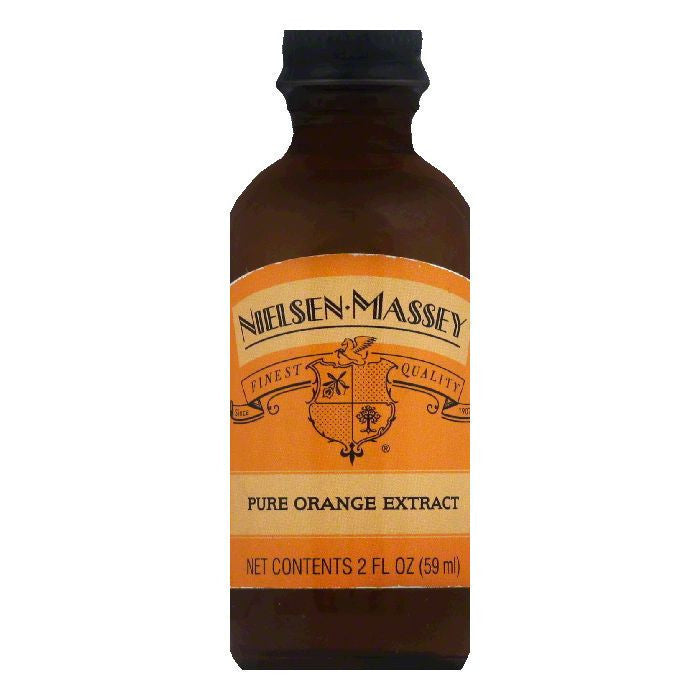 Nielsen Massey Pure Orange Extract, 2 OZ (Pack of 8)
