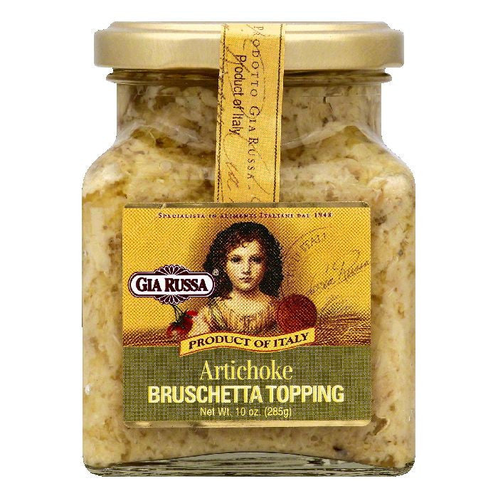 Gia Russa Artichoke Bruschetta Topping, 10 OZ (Pack of 6)