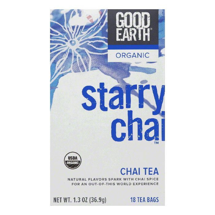 Good Earth Organic Starry Chai Chai Tea 18 ct  (Pack of 6)