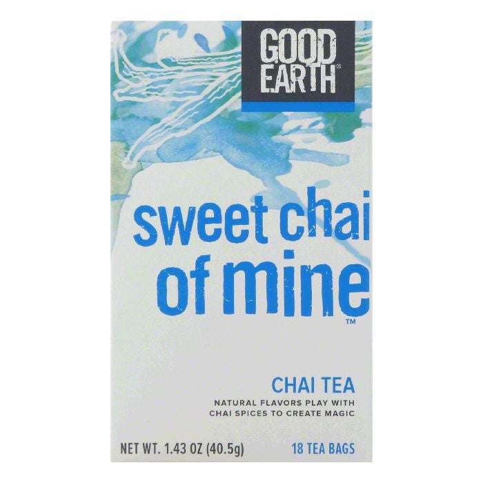 Good Earth Sweet Chai of Mine Chai Tea 18 ct  (Pack of 6)