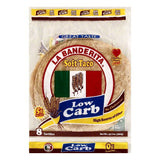 La Banderita Soft Taco Low Carb Tortillas, 8 ea (Pack of 12)