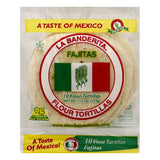 La Banderita Fajitas Flour Tortillas, 10 ea (Pack of 12)